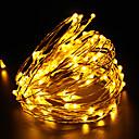preiswerte LED Leuchtbänder-10m string leuchtet 100 leds 100-240 v weihnachten festival new year geschenk lampe hochzeit