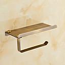preiswerte Ablagen-WC-Rollenhalter Antike Messing 1 Stück - Hotelbad