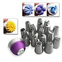hesapli Kek Kalıpları-Bakeware araçları Paslanmaz Çelik / Plastik Çevre-dostu Kek / Cupcake / Tart Dekorasyon Aracı