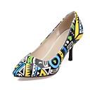 hesapli Kadın Topukluları-Kadın's Ayakkabı Nappa Leather / Patentli Deri Bahar / Yaz Rahat / Yenilikçi / Topuktan Bağlamalı Topuklular Stiletto Topuk Düğün /