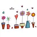 preiswerte Parykopfbedeckungen-Dekorative Wand Sticker - Flugzeug-Wand Sticker Tiere / Stillleben / Mode Wohnzimmer / Schlafzimmer / Badezimmer / Abziehbar