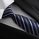 رخيصةأون جزمات رجالي-ربطة العنق بوليستر, حفلة / عمل / أساسي للرجال / أزرق