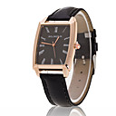 cheap Travel Health-Men's Wrist Watch Casual Watch Leather Band Charm Black / Brown / Tianqiu 377