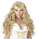 preiswerte Synthetische Perücken-Synthetische Perücken / Perücken Wellen Synthetische Haare Perücke Damen Lang Kappenlos