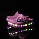 olcso Női sportcipő-Fiú Cipő Szintetikus Nyár Kényelmes / Világító cipők Papucs és papuc Rátétek / Kombinált / LED mert Rózsaszín / Kék / Világoszöld