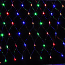 cheap Décor Lights-3MX2M 200LED Home Outdoor Holiday Christmas Xmas Decorative Wedding Net Mesh String Fairy Curtain Garlands Party Light
