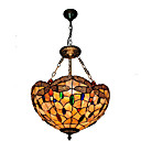 cheap Pendant Lights-Diameter 40cm Shell Shade Pendant Lights Living Room Bedroom Dining Room Light Fixture