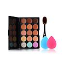billige Sminke Sæt-15 Foundation Makeupbørster Ansigt