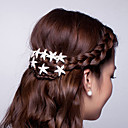 cheap Hair Accessories-Hot Dish Hair Flower U-Shaped Clamp Starfish Hair Hair Clasp Diamond Tiara 10pcs