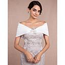 cheap Jewelry Sets-Sleeveless Satin Wedding Wedding  Wraps With Rhinestone Shrugs