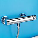 preiswerte Duscharmaturen-dusche wasserhahn - zeitgenössische moderne chrom dusche nur keramik ventil bad dusche mischbatterien