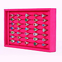 cheap Hair Accessories-Square Jewelry Boxes / Jewelry Displays - Fashion Rose, Black and White 23 cm 14.5 cm / Women's