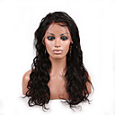 cheap Human Hair Wigs-Human Hair Unprocessed Human Hair Glueless Lace Front Lace Front Wig Brazilian Hair Body Wave Wig 130% Density with Baby Hair Natural Hairline African American Wig 100% Hand Tied Women's Short Medium