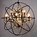 preiswerte Pendelleuchten-6-Licht Kugel Insel-Licht Raumbeleuchtung - Kristall, 110-120V / 220-240V Inklusive Glühbirne / 15-20㎡ / E12 / E14