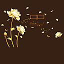 baratos Adesivos de Parede-Autocolantes de Fotografias - Etiquetas de parede de palavras e citações Vida Imóvel / Moda / Floral Sala de Estar / Quarto / Sala de