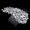 cheap Party Headpieces-Pearl / Crystal / Rhinestone Hair Combs with 1 Wedding / Special Occasion / Casual Headpiece