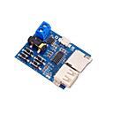 cheap Modules-MP3 Lossless Decoding Board TF Card U Disk Module with Power Amplifier