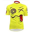 cheap Cycling Jersey & Shorts / Pants Sets-Short Sleeve Cycling Jersey Bike Clothing Suit Waterproof Breathable 3D Pad Quick Dry Anatomic Design Sports Mesh Fleece Character Clothing Apparel / Waterproof Zipper / Stretchy