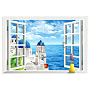 preiswerte Wand-Sticker-Dekorative Wand Sticker - 3D Wand Sticker 3D Wohnzimmer / Schlafzimmer / Badezimmer / Abziehbar
