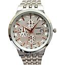 preiswerte Kleideruhr-Herrn Armbanduhr Armbanduhren für den Alltag / Cool Legierung Band Charme / Glanz / Modisch Silber / Gold / Mehrfarbig / Edelstahl