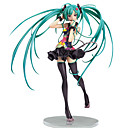 baratos Personagens de Anime-Figuras de Ação Anime Inspirado por Vocaloid Fantasias PVC CM modelo Brinquedos Boneca de Brinquedo Homens / Mulheres