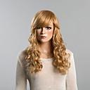 abordables Pelucas Naturales de Malla-Pelo humano pelucas sin tapa Cabello humano Rizado Clásico Alta calidad Sin Tapa Peluca Diario