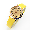 abordables Relojes de Moda-Mujer Reloj de Pulsera Reloj Casual Piel Banda Vintage / Casual / Moda Negro / Azul / Rosa