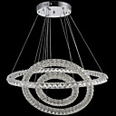 cheap Chandeliers-Pendant Light Ambient Light Electroplated Metal Crystal, LED 110-120V / 220-240V Warm White / Cold White LED Light Source Included / LED Integrated