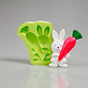 cheap Holiday Deals-Bakeware tools Silicone Eco-friendly / Easter For Cake / For Cookie / For Pie 3D Cartoon Mold 1pc