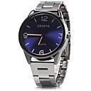 preiswerte Kleideruhr-Herrn Kleideruhr Armbanduhr Quartz Blau / Silber / Analog Freizeit - Braun Rot Blau