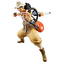 billige Anime actionfigurer-Anime Action Figurer Inspirert av One Piece Cosplay 23 cm CM Modell Leker Dukke