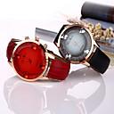 preiswerte Armband-Uhren-Damen Armbanduhr Quartz Schlussverkauf Cool / Leder Band Analog Schmetterling Modisch Schwarz / Weiß / Blau - Rose Braun Rot