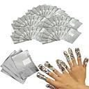 baratos Airbush tatuagem-100pcs Almofada de algodão arte de unha Manicure e pedicure Clássico Diário