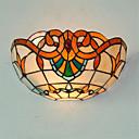 billige Vegglamper-CXYlight Tiffany / Rustikk / Hytte / Vintage Vegglamper Metall Vegglampe 110V / 110-120V / 220-240V Max 60W