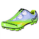abordables Zapatos de Ciclismo-SIDEBIKE Calzado para Mountain Bike Fibra de Carbono Transpirable, A prueba de resbalones, Resistencia al desgaste Ciclismo Verde Hombre