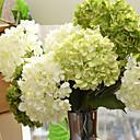 cheap Artificial Flower-Artificial Flowers 1 Branch Simple Style Hydrangeas Tabletop Flower