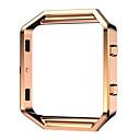 billige Smartur Tilbehør-Urrem for Fitbit Blaze Fitbit Klassisk spænde Metal Rustfrit stål Håndledsrem