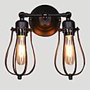 billige Brettspill-Rustikk / Hytte Vegglamper Metall Vegglampe 110-120V / 220-240V