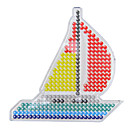 baratos Desenho Brinquedos-Blocos de fusíveis Navio Modelo de 5mm Clássico