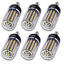 abordables Bombillas LED-YouOKLight 1200 lm E14 E26/E27 E12 Bombillas LED de Mazorca T 120 leds SMD 5736 Decorativa Blanco Cálido Blanco Fresco AC 110-130V AC