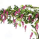 baratos Flor artificiali-Flores artificiais 1 Ramo Pastoril Estilo Violeta Guirlandas & Flor de Parede