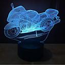 billige Original belysning-motorcykel touch dimming 3d ledet nat lys 7colorful dekoration atmosfære lampe nyhed belysning lys