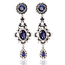 cheap Earrings-Women's Hoop Earrings - Fashion Blue For Wedding