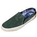 preiswerte Herren Pantoletten & Slipper-Herrn Denim Jeans Frühling / Winter Komfort Loafers & Slip-Ons Walking Rutschfest Braun / Rot / Grün