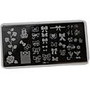 preiswerte Nail Stamping-1pcs Klassisch Nagel-Kunst-Design Alltag
