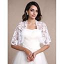 זול עליוניות לחתונה-תחרה חתונה / מסיבה / ערב / קזו'אל כיסויי גוף לנשים עם תחרה בולרו