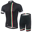 cheap Men's Bracelets-Men's Short Sleeves Cycling Jersey with Shorts Bike Clothing Suits, Quick Dry, Breathable