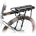billige Bagagebærertasker-Bike Cargo Rack Maks Belastning 50 kg Justérbar Logo med refleks Nem at montere Aluminiumlegering Vejcykel Mountain Bike - Sort