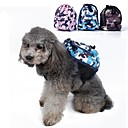 cheap Dog Travel Essentials-Dog Dog Pack Pet Carrier Portable Camouflage Green / Blue / Pink