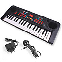 cheap Toy Instruments-Electronic Keyboard Piano With a Microphone Fun Kid's Gift Girls'